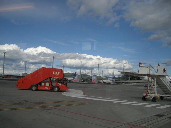 Radisson Blu Airport Hotel, Oslo Gardermoen: tarmark