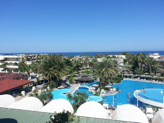 Atrium Palace Thalasso Spa Resort & Villas : views from room 322 (junior suite) amazing