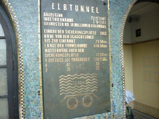 Alter Elbtunnel: Вход в туннель