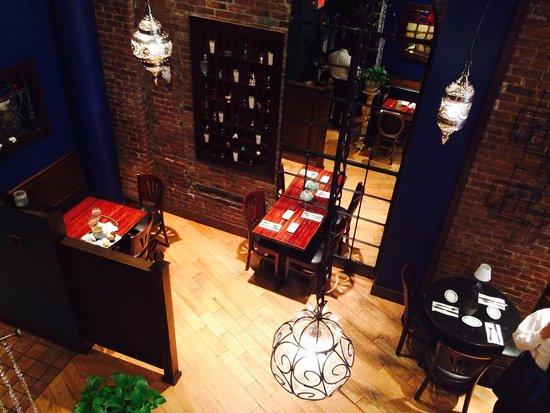 Skinner's Loft: Beautiful lighting