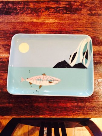 Skinner's Loft: Fish plates