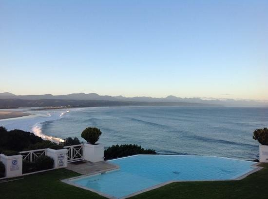 The Plettenberg Hotel : looking from the terrace of the hotel
