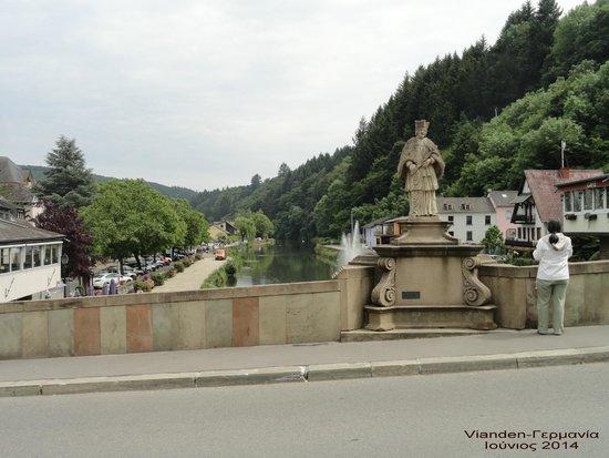 Altstadt Vianden. : Our bridge in Vianden