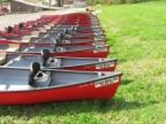 Kingston Springs, TN: Best and most comfortable canoes on the Harpeth River