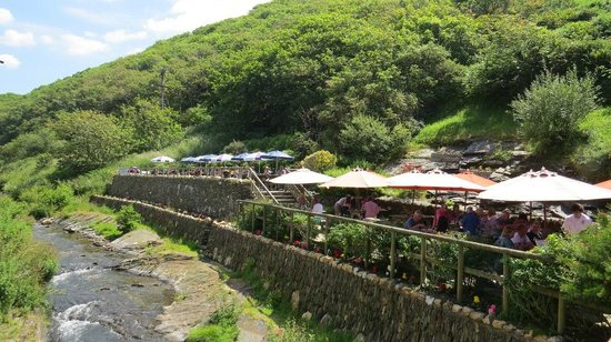 The Riverside Restaurant : Outside