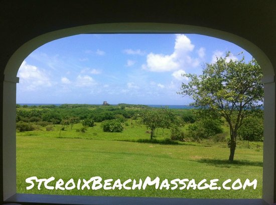 Beach Massage and Bodywork Delivered : View from Cruzan Classic Villa