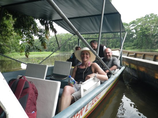 Tortuguero Canal: Boat rides are so relaxing