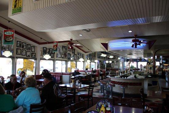 Galaxy Diner: Salle