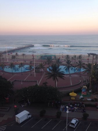 Protea Hotel by Marriott Durban Edward: View from the balcony of room 603(suite)