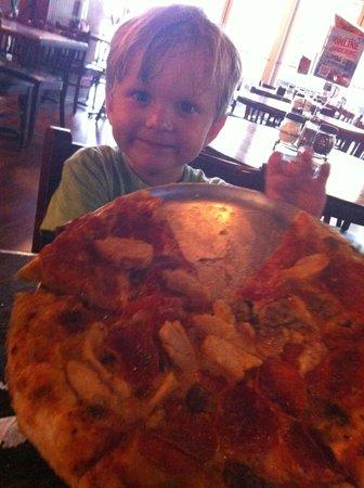 NYPD Pizza: Pig Boy Pie