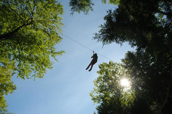 Newry, ME: Zipline Tours and Twin Zips at Sunday River's Adventure Park