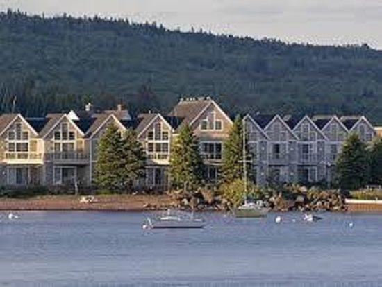 Cobblestone Cove Villas: View from the Harbor