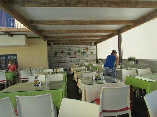 Hotel Manos Maria : restaurant