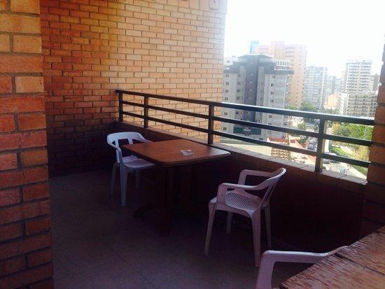 La Caseta Apartments: Balcony 7a