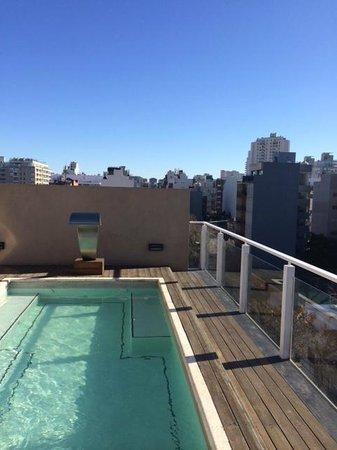Fierro Hotel Buenos Aires: Piscina na cobertura