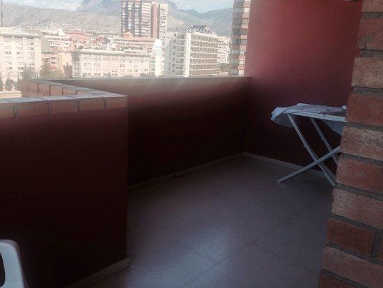 Apartamentos La Caseta: 2nd part of balcony 7a