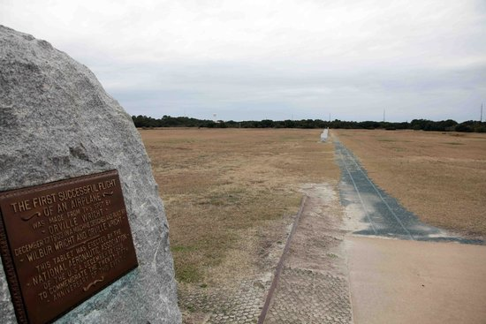 Wright Brothers National Memorial: Their 'airfield'