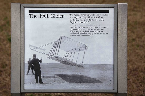 Wright Brothers National Memorial: Gliding gave them the understanding of avionics