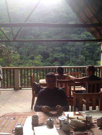 Black Rock Lodge: Dining area