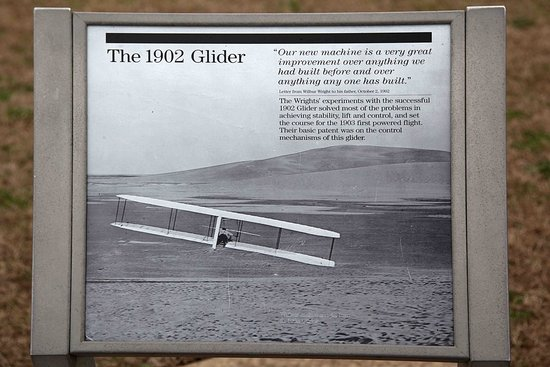 Wright Brothers National Memorial: Plenty of information