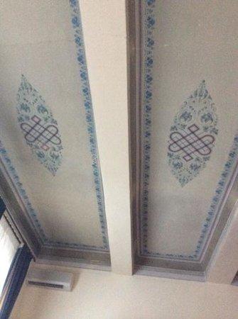 Palazzo Fani Mignanelli : teto do quarto