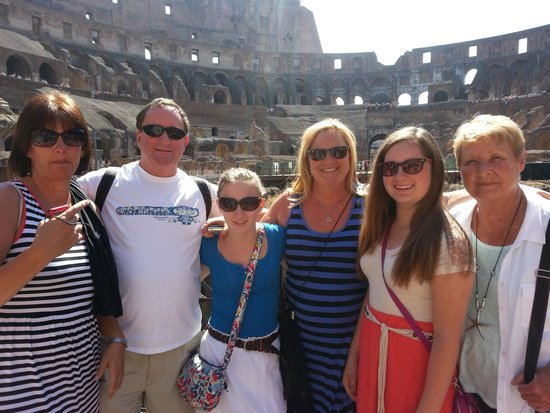 Rome Tours - Private tours of Rome : Colosieum June 4