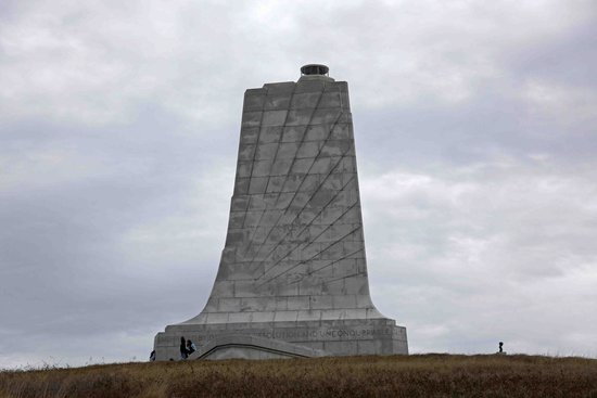Wright Brothers National Memorial: Donated by a grateful nation by order of Congress