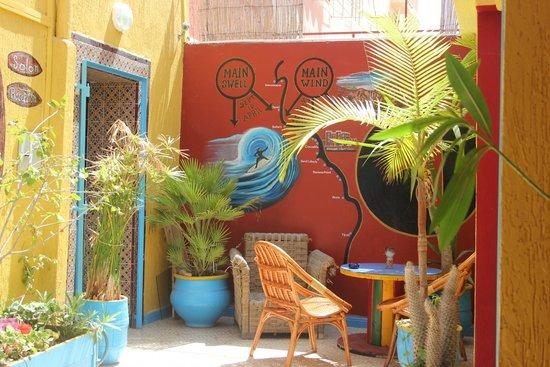 Free Surf Maroc : cour intérieur