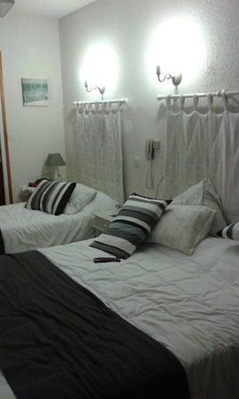 Inter-Hotel Foncillon : la chambre triple