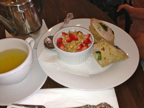 Cornwallis House Tea Company: wrap