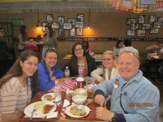 Central Market Hall: Great place to meet new friends... Ramblin Wrecks