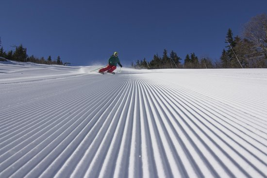 Sunday River Ski Resort: Sunday River's famous corduroy