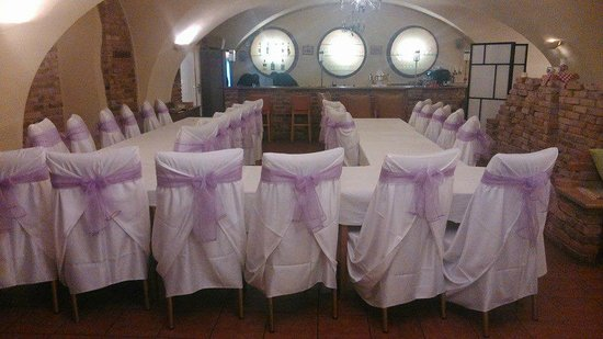 Hotel Stary Pivovar : table decorations