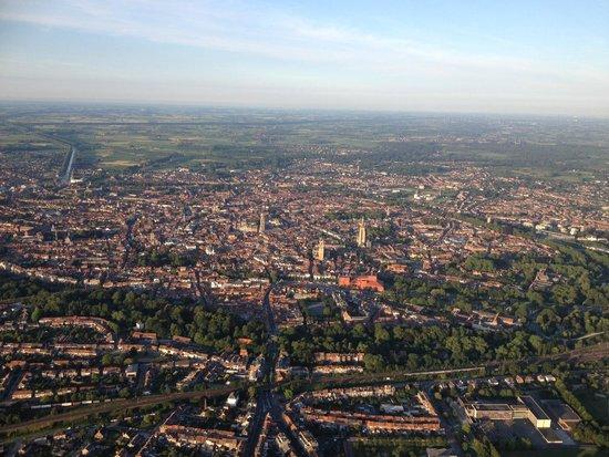 Bruges Ballooning: Prachtig zicht over Brugge