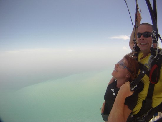 Skydive South Padre Island: Yes, it opened!