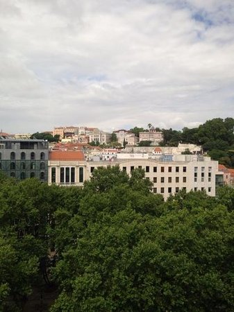 Sofitel Lisbon Liberdade: view from 8th floor room