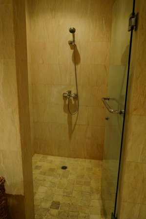 The Club Villas: shower
