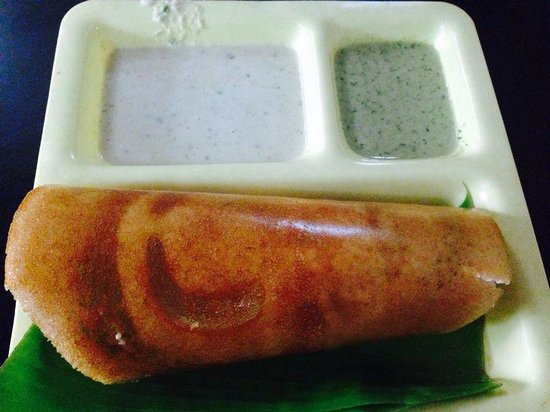 Shri Sagar (C.T.R): benne dosa. the best ever.
