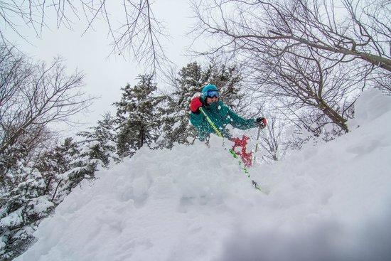 Sunday River Ski Resort: Powder at Sunday River