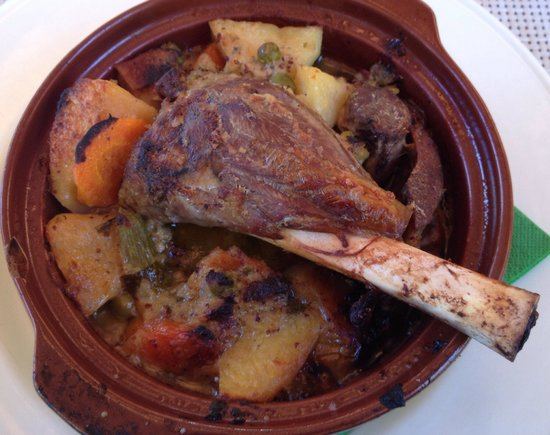 Pelican Kipos: Lamb and vegetables