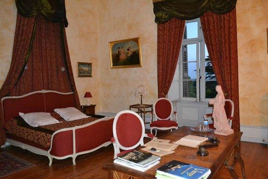 """Chateau de Ternay : La chambre """"de Piolant"""""""