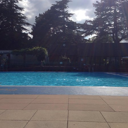 View Of Pool With Lido Cat Picture Of Droitwich Spa Lido Droitwich Tripadvisor
