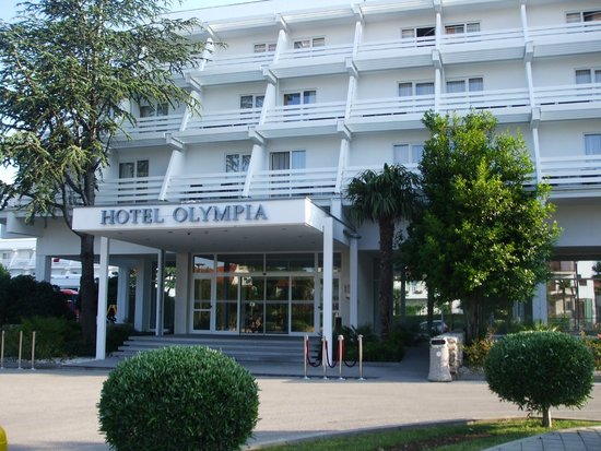 Olympia Hotel : accueil
