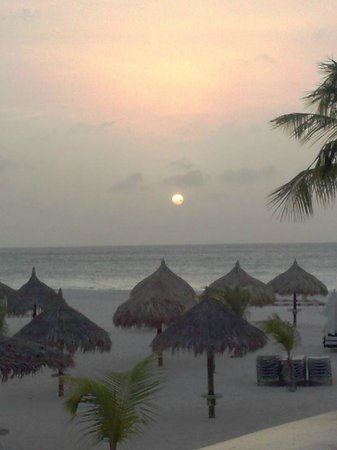 Manchebo Beach Resort & Spa : Love this view from our room 47