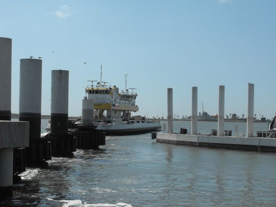 Galveston - Port Bolivar Ferry: Bolivar Ferry