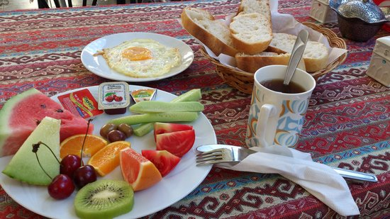 Nur Pension: breakfast
