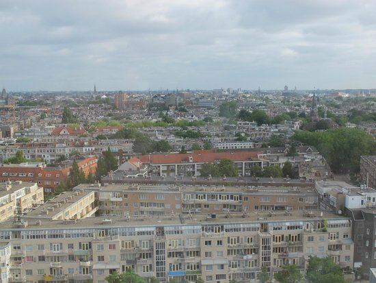 Hotel Okura Amsterdam: Las vistas desde la ventana planta 16