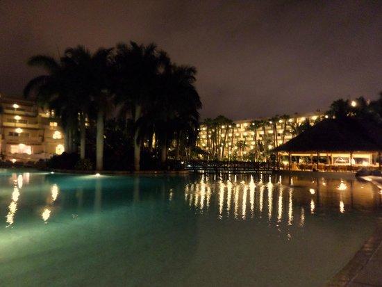 Maspalomas Princess Hotel: Pool at night