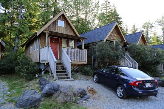 Reef Point Cottages: Cottage typique avec terrasse privative