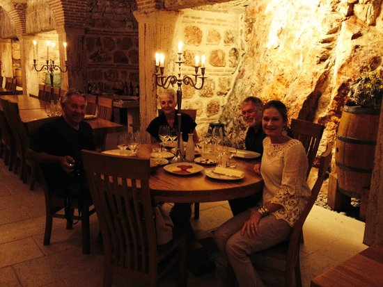 AndAdventure holidays: Wine tasting in the natural cellar at Tomic winery